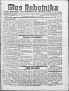 Głos Robotnika 1922, R. 3 nr 209