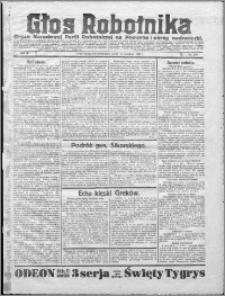 Głos Robotnika 1922, R. 3 nr 210