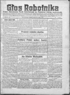 Głos Robotnika 1922, R. 3 nr 218