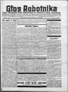 Głos Robotnika 1922, R. 3 nr 220