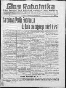Głos Robotnika 1922, R. 3 nr 221