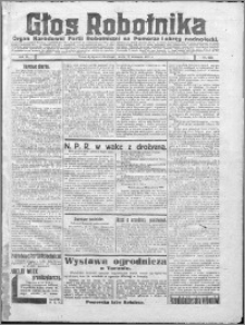 Głos Robotnika 1922, R. 3 nr 222