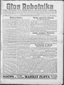 Głos Robotnika 1922, R. 3 nr 224