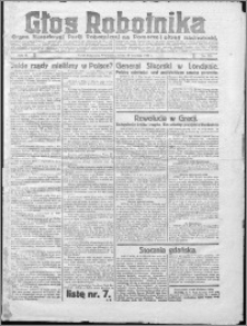 Głos Robotnika 1922, R. 3 nr 225
