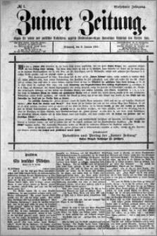 Zniner Zeitung 1901.01.02 R.14 nr 1