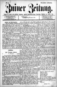 Zniner Zeitung 1901.01.07 R.14 nr 3