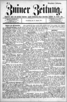 Zniner Zeitung 1901.01.12 R.14 nr 4