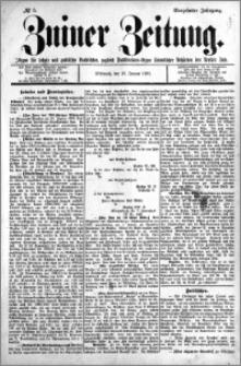 Zniner Zeitung 1901.01.16 R.14 nr 5