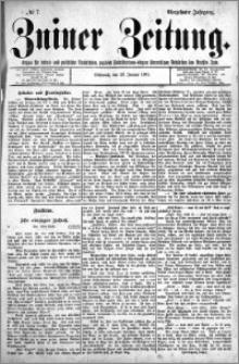 Zniner Zeitung 1901.01.23 R.14 nr 7