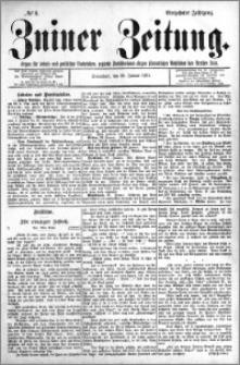 Zniner Zeitung 1901.01.26 R.14 nr 8