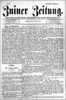 Zniner Zeitung 1901.01.30 R.14 nr 9