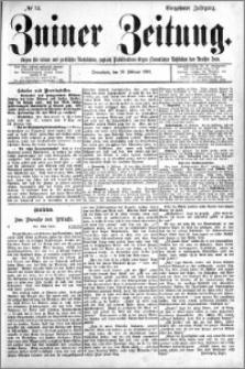 Zniner Zeitung 1901.02.16 R.14 nr 14