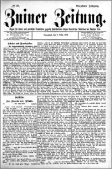 Zniner Zeitung 1901.03.09 R.14 nr 20