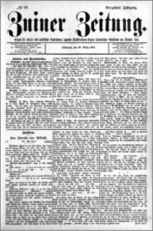 Zniner Zeitung 1901.03.20 R.14 nr 23