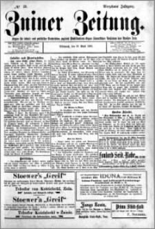 Zniner Zeitung 1901.04.10 R.14 nr 29