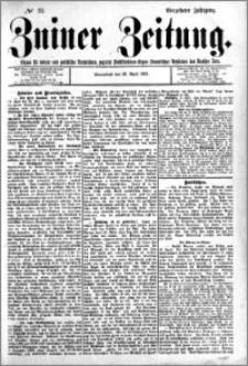 Zniner Zeitung 1901.04.20 R.14 nr 32