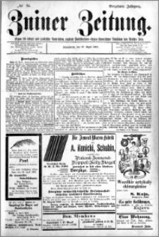 Zniner Zeitung 1901.04.27 R.14 nr 34