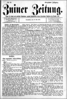 Zniner Zeitung 1901.05.18 R.14 nr 40