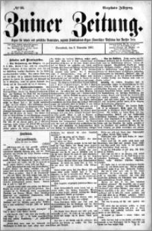 Zniner Zeitung 1901.11.03 R.14 nr 88