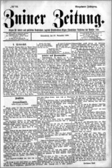 Zniner Zeitung 1901.11.23 R.14 nr 94