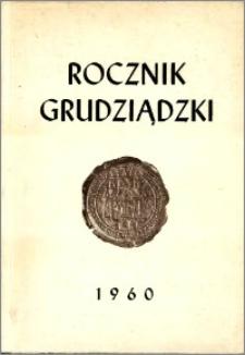 Rocznik Grudziądzki T.1