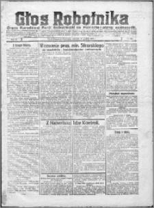Głos Robotnika 1922, R. 3 nr 230