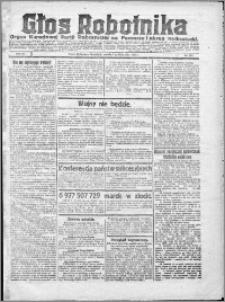 Głos Robotnika 1922, R. 3 nr 231