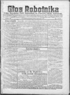 Głos Robotnika 1922, R. 3 nr 232