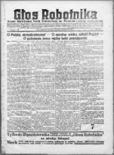 Głos Robotnika 1922, R. 3 nr 244
