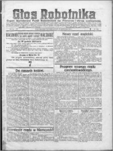 Głos Robotnika 1922, R. 3 nr 247