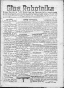 Głos Robotnika 1922, R. 3 nr 249