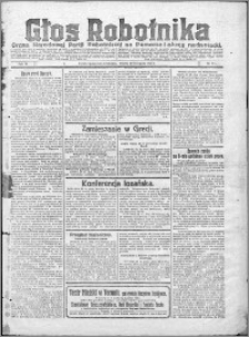Głos Robotnika 1922, R. 3 nr 274