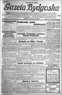 Gazeta Bydgoska 1924.04.02 R.3 nr 78