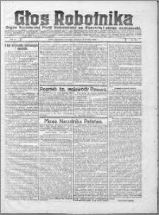 Głos Robotnika 1922, R. 3 nr 284