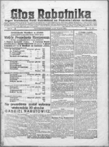 Głos Robotnika 1922, R. 3 nr 285