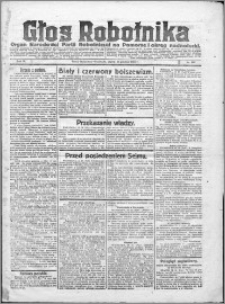Głos Robotnika 1922, R. 3 nr 288