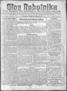 Głos Robotnika 1923, R. 4 nr 1