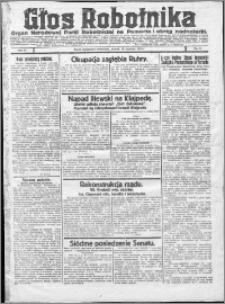 Głos Robotnika 1923, R. 4 nr 6
