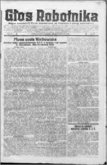 Głos Robotnika 1923, R. 4 nr 12