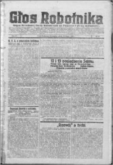 Głos Robotnika 1923, R. 4 nr 17