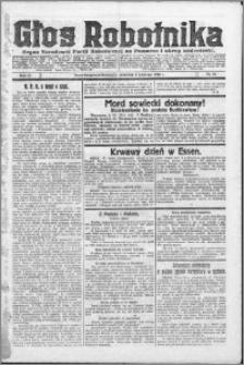 Głos Robotnika 1923, R. 4 nr 40