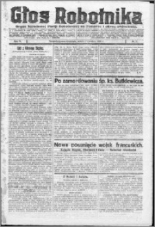 Głos Robotnika 1923, R. 4 nr 41