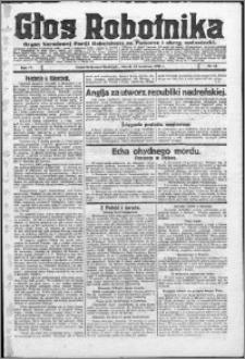 Głos Robotnika 1923, R. 4 nr 42