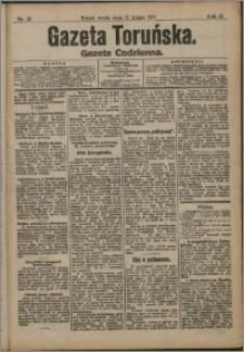 Gazeta Toruńska 1911, R. 47 nr 37