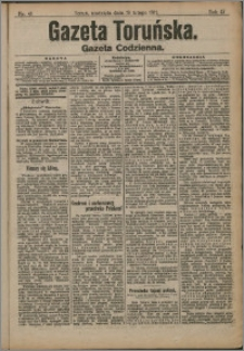 Gazeta Toruńska 1911, R. 47 nr 41 + dodatek