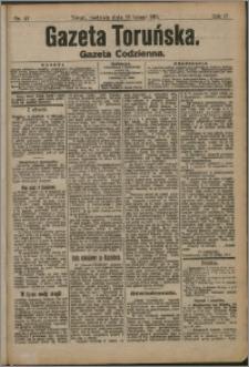 Gazeta Toruńska 1911, R. 47 nr 47 + dodatek