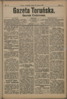 Gazeta Toruńska 1911, R. 47 nr 73