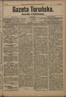 Gazeta Toruńska 1911, R. 47 nr 91