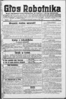 Głos Robotnika 1923, R. 4 nr 84
