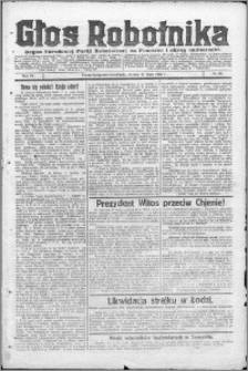 Głos Robotnika 1923, R. 4 nr 86